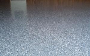 Garage Floor Resurfaced with Durafleck