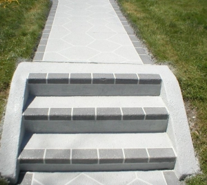 Concrete Steps and Walkway Repaired and Restored
