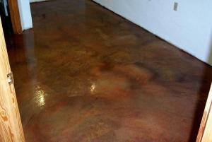 acrylistain floor resurfacing